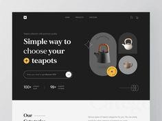 Simple Way, Ui Design, Tea Pots, Give It To Me, Design Inspiration, Coding, Unique, Cheers, Minimalist