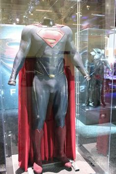 Pics of some of Superman's new suits in MAN OF STEEL.