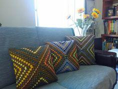 O Que Vai Nas Agulhas!        : As almofadas dos quadrados