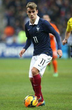 c5784822073 Antoine Griezmann of France in action during the international.