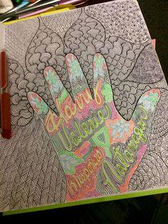 Hand doodle