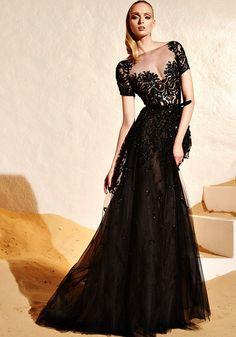 Zuhair Murad Resort 2015 / Sexy Boat Neck Evening Dress, Gown - Hong Kong | Designer Bridal Room