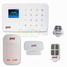 Sistem de alarma fara fir cu modul GSM wireless