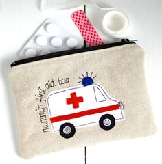 Personalised First Aid Pouch