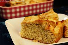 Jayati's Food Journey - Enjoy!!!: Dutch Apple Cake #IngredientChallenge #Apple