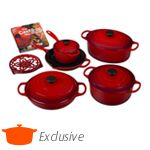 Image for Ultimate Cast Iron Set - Was $1,255 from Le Creuset $999