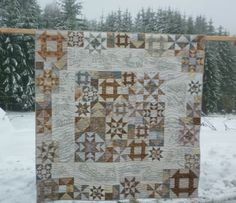 ❤ =^..^= ❤ MoosecraftUSA: Snow Days Block 12 | Embroidery ... : snow quilts - Adamdwight.com