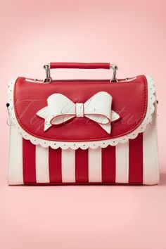 Lola Ramona Girly Bag Red White Bow 212 59 13285 20140604 0009W