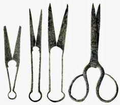 Viking scissors. ca 8-10 century AD. Kievan Rus