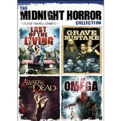 The Midnight Horror Collection: Flesh Eating Zombies Series: Gary Douglas Kohn, Lindsey Morris, Nate Witty, Michael Robert Nyman...  #zombiemovies #zombies #zombieinfestedworld http://www.zombieinfestedworld.com/buy-zombie-movies-online.html