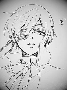 """ Kuroshitsuji / Yana Toboso's Sketches / Ciel Phantomhive """