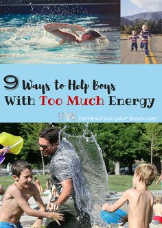 9 Ways to Help Boys with Too Much Energy. These ideas from a boy mom are awesome tips for helping boys burn off all that energy! Practical Parenting, Parenting Advice, Kids And Parenting, Mommy And Son, Raising Boys, Parent Resources, Christian Parenting, Summer Fun, Choices