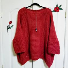 If you are looking a guaranteed warmth, comfort and style, youll find them in this chunky knit oversized sweater handmade from super soft alpaca blend yarn. 🎁 Reversible - two sweaters on one. Classic look or Urban fashion look ⏰ Fast processing time and FREE shipping to USA and Canada#poncho #alpacasweater #knitponchowomen #womensponcho #alpacasweater #oversizedsweater #oversizedponchos