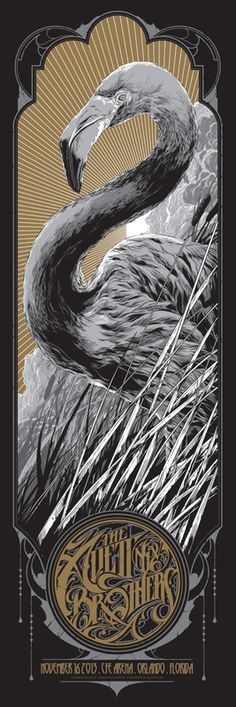 The Avett Brothers Orlando Concert Poster by Ken Taylor