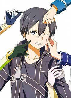Miraculous Blue Rose & Starry Night Sky Sao Anime, Otaku Anime, Anime Naruto, Anime Manga, Arte Online, Online Art, Sao Characters, Sword Art Online Wallpaper, Kirito Asuna