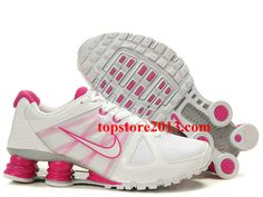 lowest price b80d4 5037b Hot Sale Nike Shox Agent Women White Pink Running Shoes Adidas Shoes, Nike  Shox Shoes