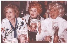 Betty White--Lucille Ball (Lucy) & Carol Channing