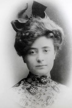Family photograph of Irene Corbett as a young woman. Corbett, who was returning from midwife-nursing training in England, was the only Utahn who died on the Titanic. Photo courtesy of Don Corbett
