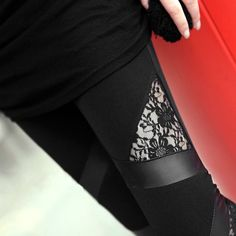 Ts women sexy fashion liquid stretchy high waist faux leather leggings