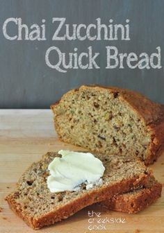 All the deep, rich flavors of chai tea in a luscious bread: Chai Zucchini Quick Bread | The Creekside Cook
