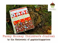 Funky Monkey Children's Personal Journal « Moda Bake Shop