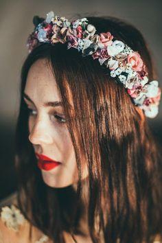 Flower Crown Bride, Bride Flowers, Wedding Flowers, Spring Fashion, Vintage, Handmade, Accessories, Flower Girls, Jewelry