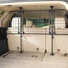 Just found this Car Dog Gate - Rattle-Free Travel Barrier -- Orvis on Orvis.com!