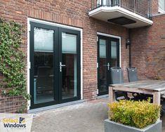 Outdoor Spaces, Outdoor Decor, Outdoor Gardens, Garage Doors, Sweet Home, New Homes, Windows, Patio, Interior