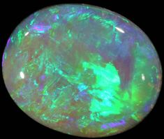 BLACK CRYSTAL OPAL - LIGHTNING RIDGE