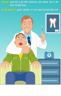 Professional competence is no laughing matter. In our office, you can always feel confident knowing that your dentist is skilled and experienced. #ToothExtraction #NottingHillDentalClinic