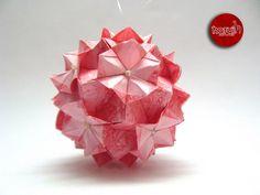 KUSUDAMA BROMÉLIAS DE ISA KLEIN by Harui Origami, via Flickr