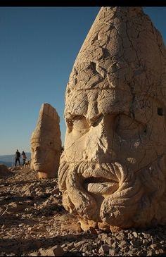 Nemrut dağı - Mount Nemrut - Adıyaman - TÜRKİYE / TURKEY