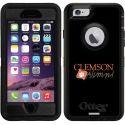 Clemson Alumni Script on OtterBox Defender Series Case for iPhone 6