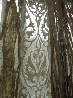 kutch patchwork, influenzed by chikankari