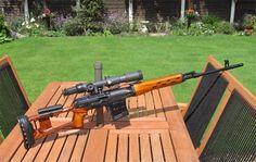 SVD Dragunov Tigr04 sniping rifle