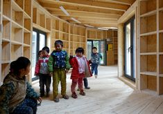 Tsiaogou Teaching School Reading Room / SLOW Architects