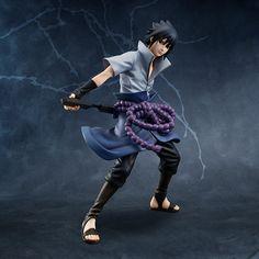 Sasuke Uchiha Re-Release (Naruto Shippuden) G.E.M. PVC-Statue 1/8 24cm Megahouse