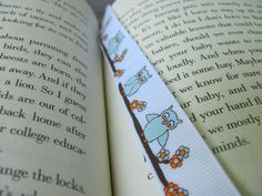 Make a Bookmark Out of Ribbon - Ribbon craft inspiration!