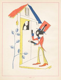 Takeo Aesop - 50 Watts.  Beautiful, strange illustrations from a 1925 Japanese version of Aesop's Fables by Takeo Takei.