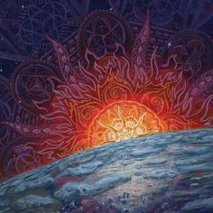 Checkout this amazing surreal visionary fantasy art by this amazing artist. Alex Grey, Acid Art, Psy Art, Hippie Art, To Infinity And Beyond, Visionary Art, Psychedelic Art, Surreal Art, Sacred Geometry