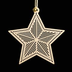 North Star Tree Decoration — Perfectly Put Together Bright Stars, Tree Decorations, Light Up, Folk Art, Germany, Christmas Tree, How To Make, Crafts, Design