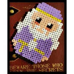 Albus Dumbledore - Harry Potter hama beads by vic_mylife