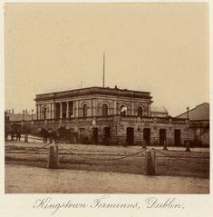 Kingstown Terminus, Dublin c.1880 after an original of c.1860