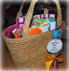 Love the shovel with the gummy fish and the note Hope you dig your summer!    End of year teacher gifts
