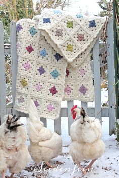 Crochet Patterns Blanket May I introduce you to my winter frost survival blanket? Baby Knitting Patterns, Diy Crochet And Knitting, How To Start Knitting, Crochet Home, Crochet Granny, Crochet Blanket Patterns, Granny Square Häkelanleitung, Manta Crochet, Knitting Magazine