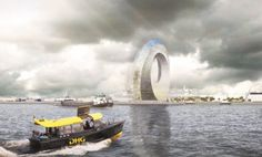 Amazing Dutch Windwheel is a green energy generator you can live in. Dutch Windwheel is a proposed circular building in Rotterdam that harnesses clean energy and houses private residences as well as public venues. Renewable Energy, Solar Energy, Solar Power, Mix Use Building, Green Building, Building Design, Circular Buildings, Cities, Future Buildings