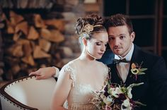 Gold and Glam Wedding Ideas - Claire Pettibone Kristene