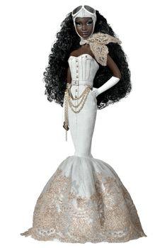 barbiedollsdaily: Byron Lars Charmaine King Barbie - 2010