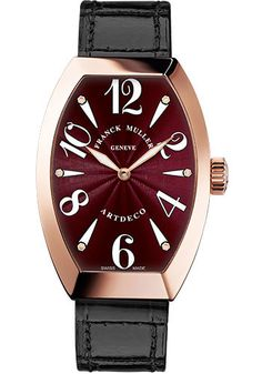 Franck Muller Watches - Art Deco 23 mm - Rose Gold - Style No: 11002 S QZ 5N…