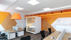 Geometric shapes in different colors Name: PWC Category: Office Renders: IVA STUDIO Concept: Prographic Architecture Studio 3d Interior Design, Color Names, Geometric Shapes, Concept, Studio, Architecture, Colors, Furniture, Home Decor
